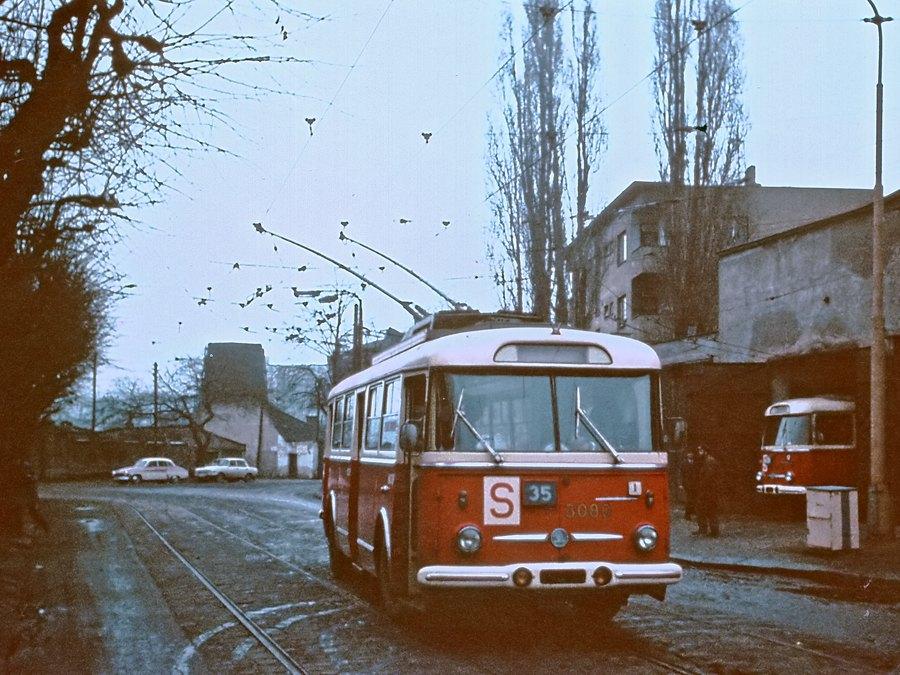 Fotogalerie » Škoda 9Tr17 3080 | Brno | Husovice | Dačického