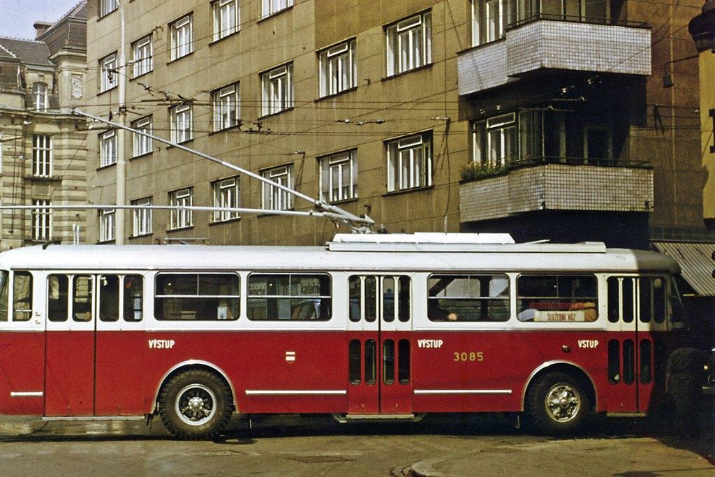 Fotogalerie » Škoda 9TrT 3085 | Brno | střed | Špitálka