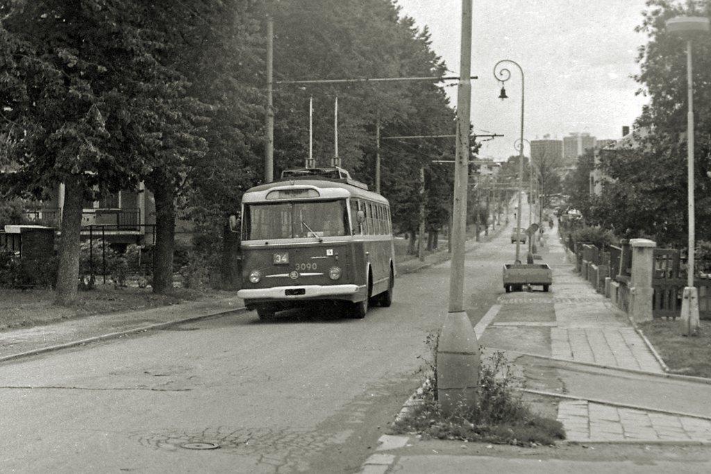 Fotogalerie » Škoda 9Tr19 3090   Brno   Žabovřesky   Luční