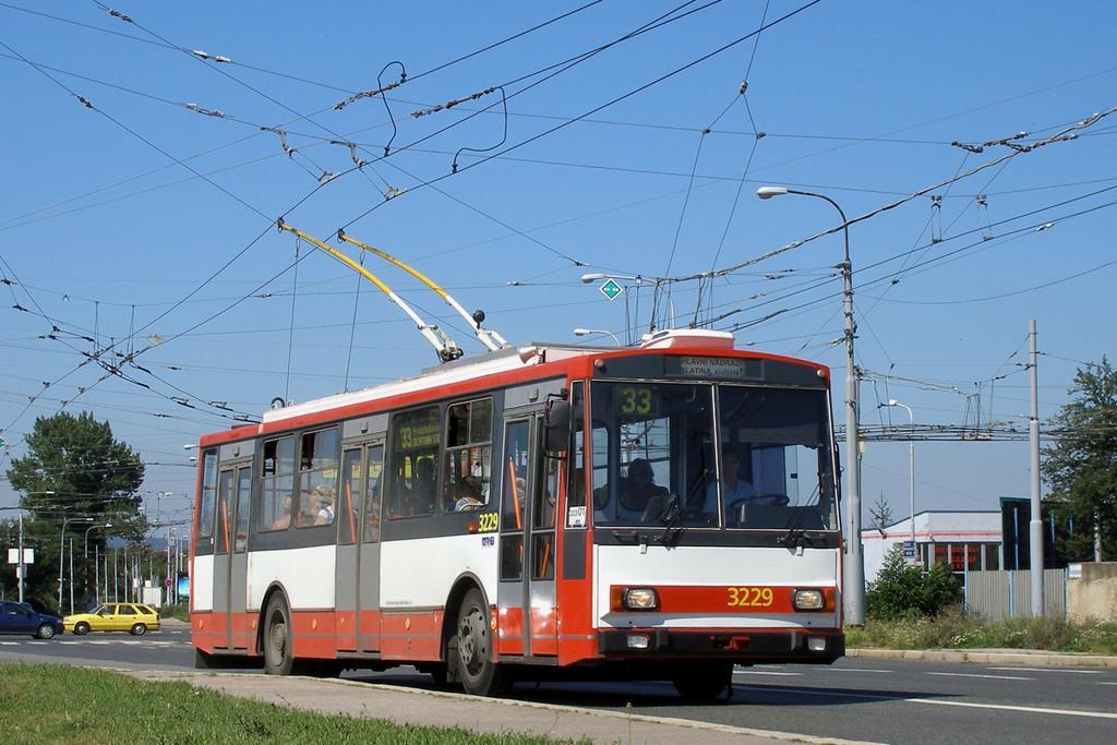 Fotogalerie » Škoda 14Tr08/6 3229 | Brno | Slatina | Hviezdoslavova