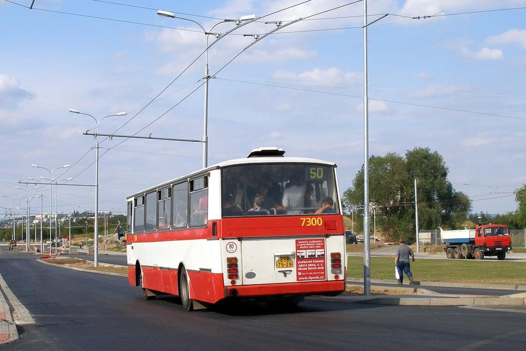Fotogalerie » Karosa B732.1652 7300 | Brno | Bohunice | Netroufalky