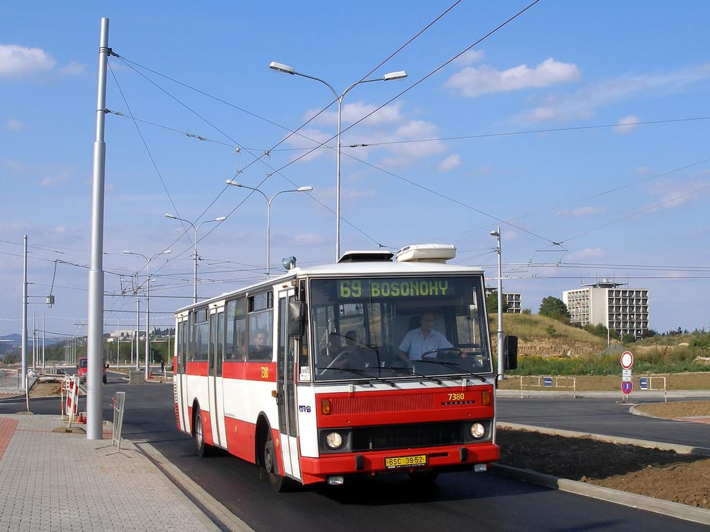 Fotogalerie » Karosa B732.1654.3 7380 | Brno | Bohunice | Netroufalky