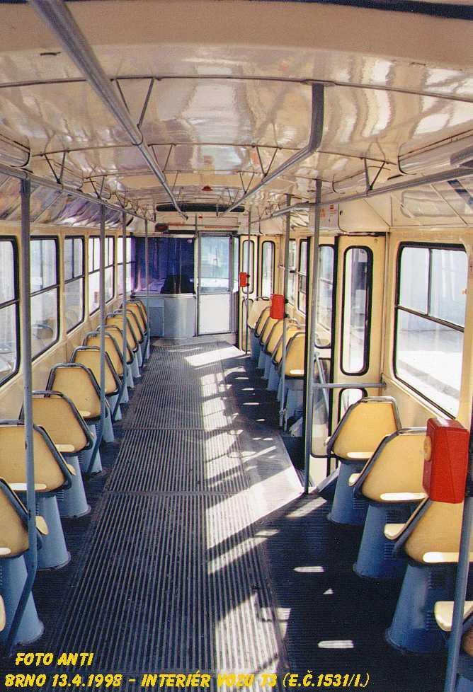Fotogalerie » ČKD Tatra T3 1531 | Brno