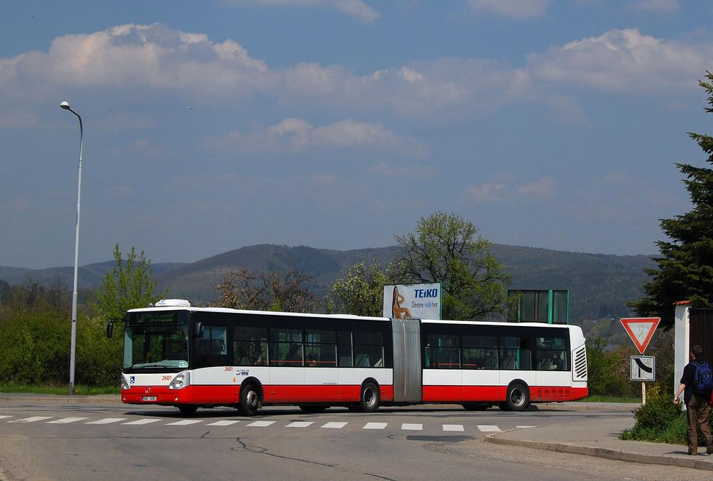 Fotogalerie » Irisbus Citelis 18M 2601 | Brno | Bystrc | Rakovecká