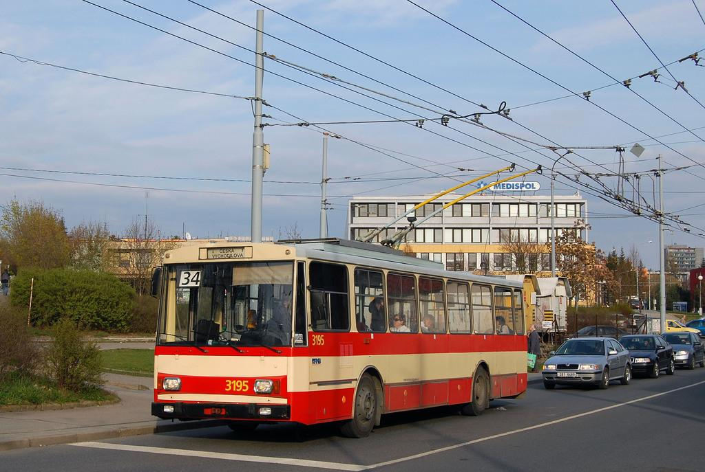 Fotogalerie » Škoda 14Tr07 3195 | Brno | Žabovřesky | Přívrat | Přívrat