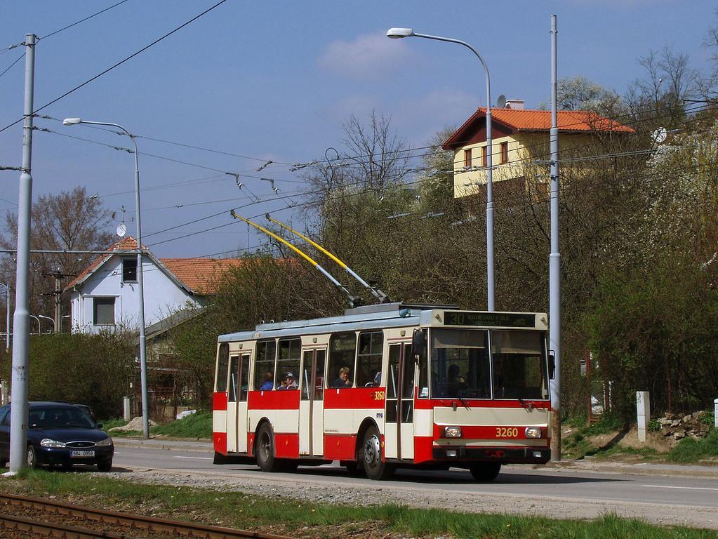 Fotogalerie » Škoda 14Tr14 3260 | Brno | Komín | Bystrcká