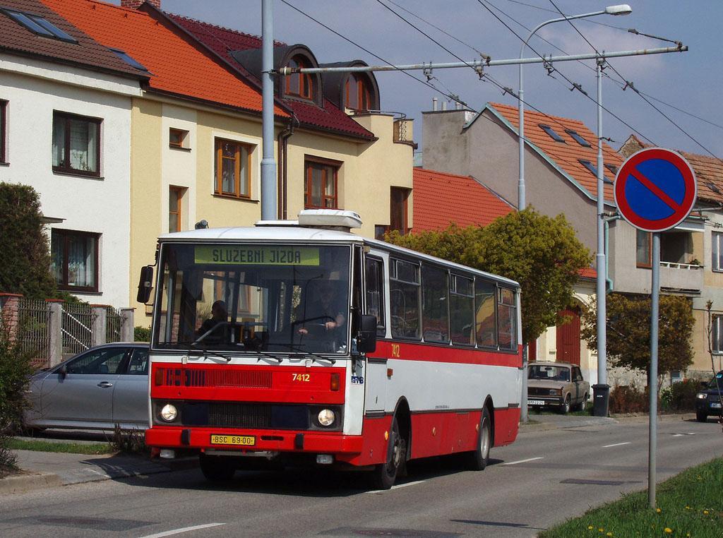 Fotogalerie » Karosa B731.1669 7412 | Brno | Komín | Branka