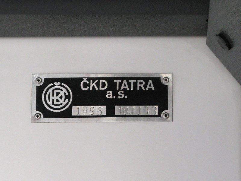 Fotogalerie » ČKD DS RT6N1 1802