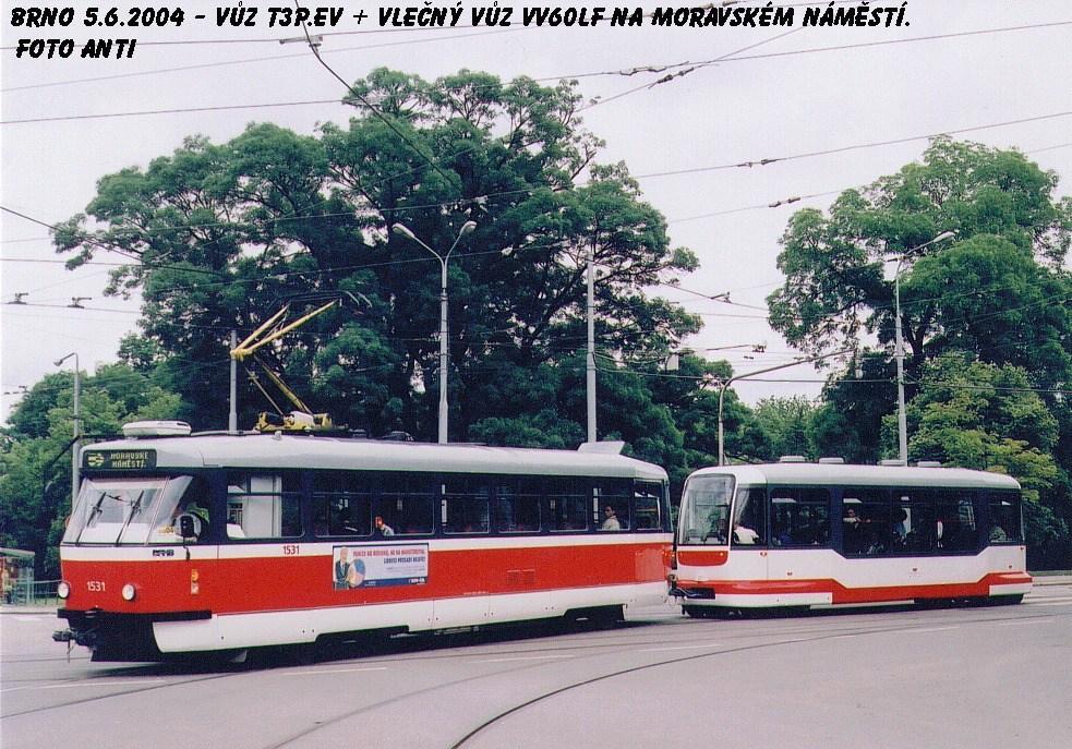 Fotogalerie » Pragoimex T3R.EV 1531   Pragoimex VV60LF 1301   Brno   střed   Moravské náměstí