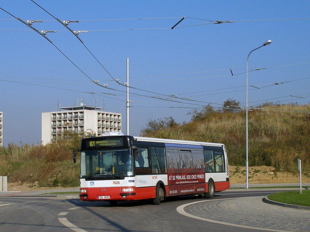 Fotogalerie » Irisbus Citybus 12M 2071.40 7626 | Brno | Bohunice | Netroufalky