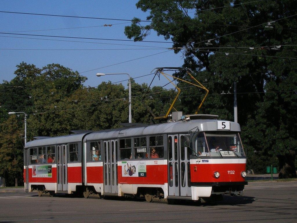 Fotogalerie » ČKD Tatra K2YU 1132 | Brno | střed | Moravské náměstí