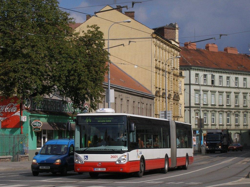 Fotogalerie » Irisbus Citelis 18M 2601 | Brno | Staré Brno | Křížová
