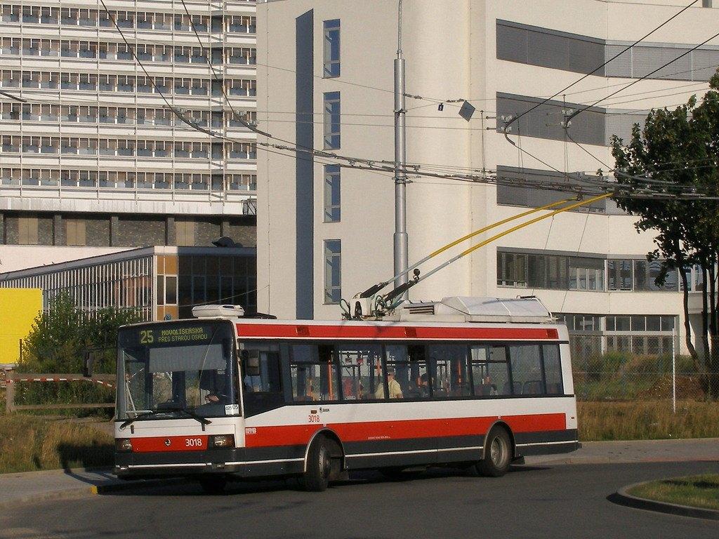 Fotogalerie » Škoda 21Tr 3018 | Brno | Bohunice | Netroufalky | Nemocnice Bohunice