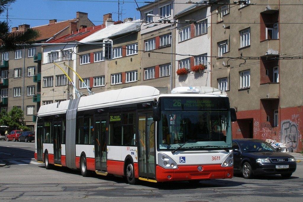 Fotogalerie » Škoda 25Tr Citelis 1B 3611 | Brno | Černá Pole | Provazníkova