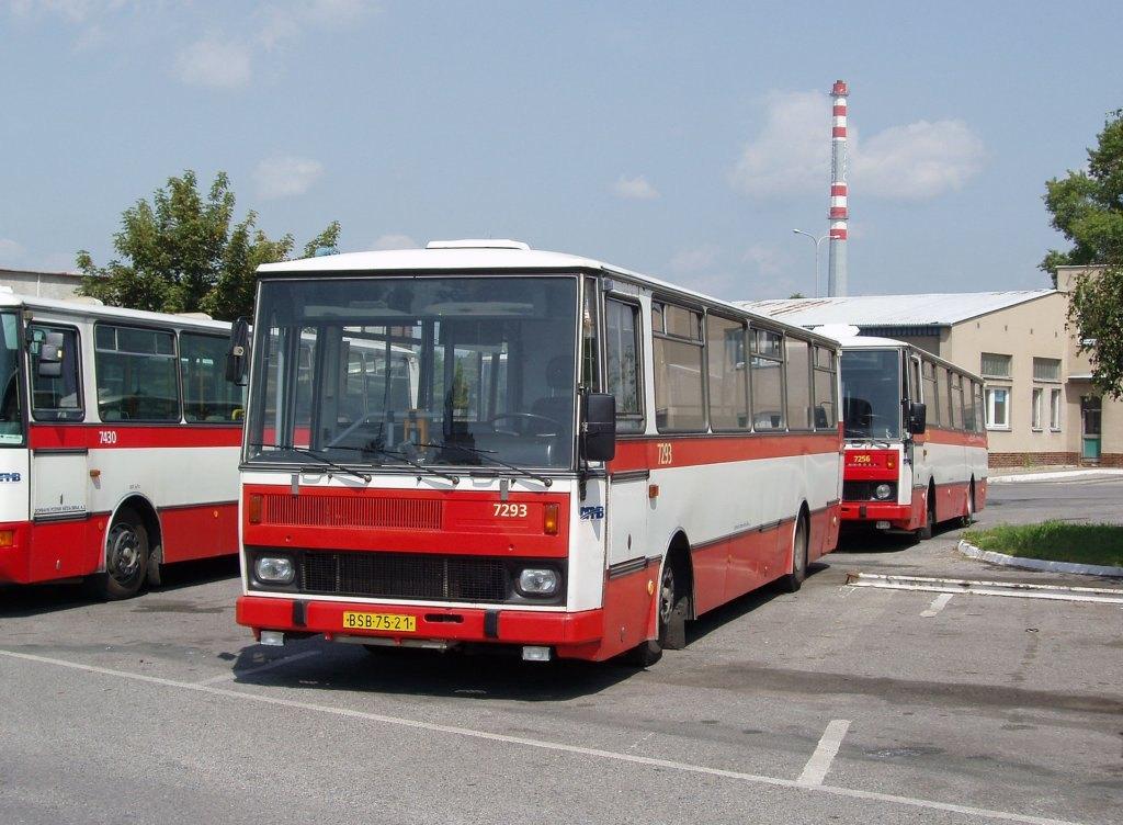 Fotogalerie » Karosa B732.1652 7293 | Brno | Vozovna Slatina