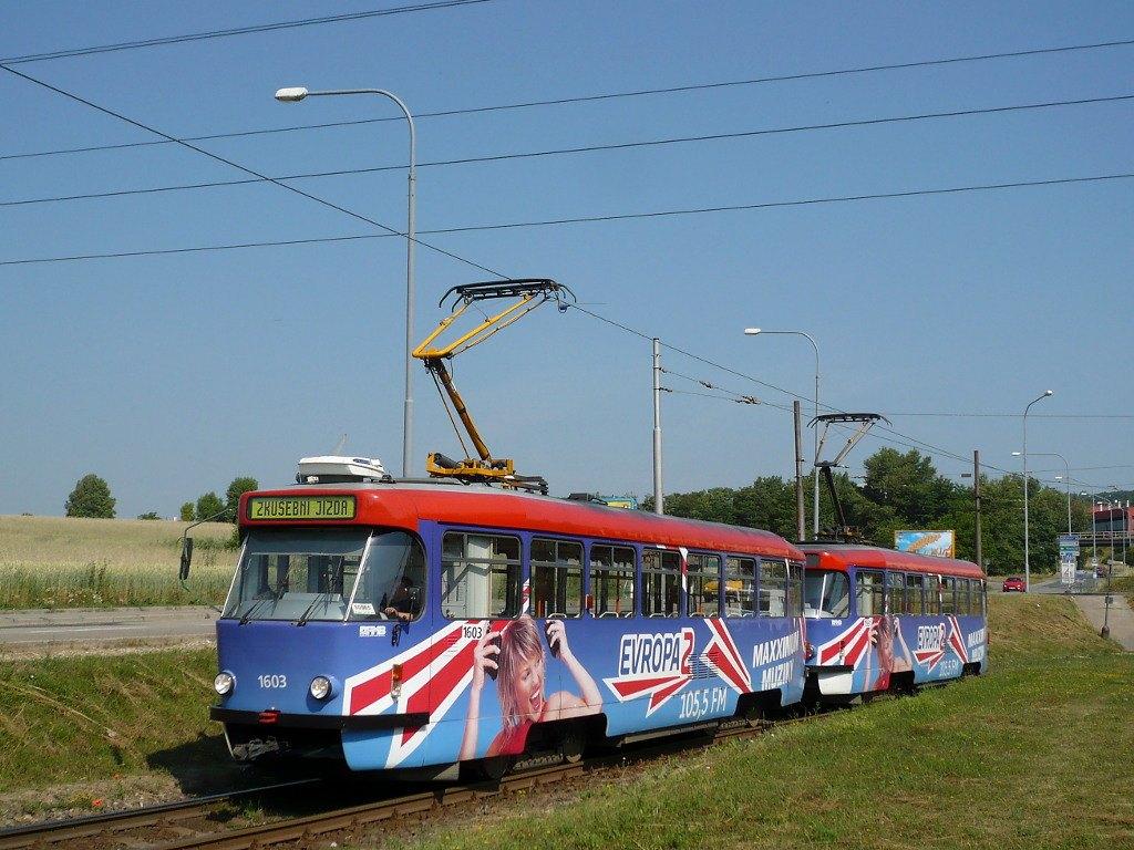 Fotogalerie » Pragoimex T3R.PV 1603 | Pragoimex T3R.PV 1561 | Brno | Starý Lískovec | Starý Lískovec, smyčka