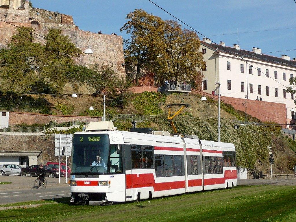 Fotogalerie » ČKD DS RT6N1 1801 | Brno | střed | Nové sady