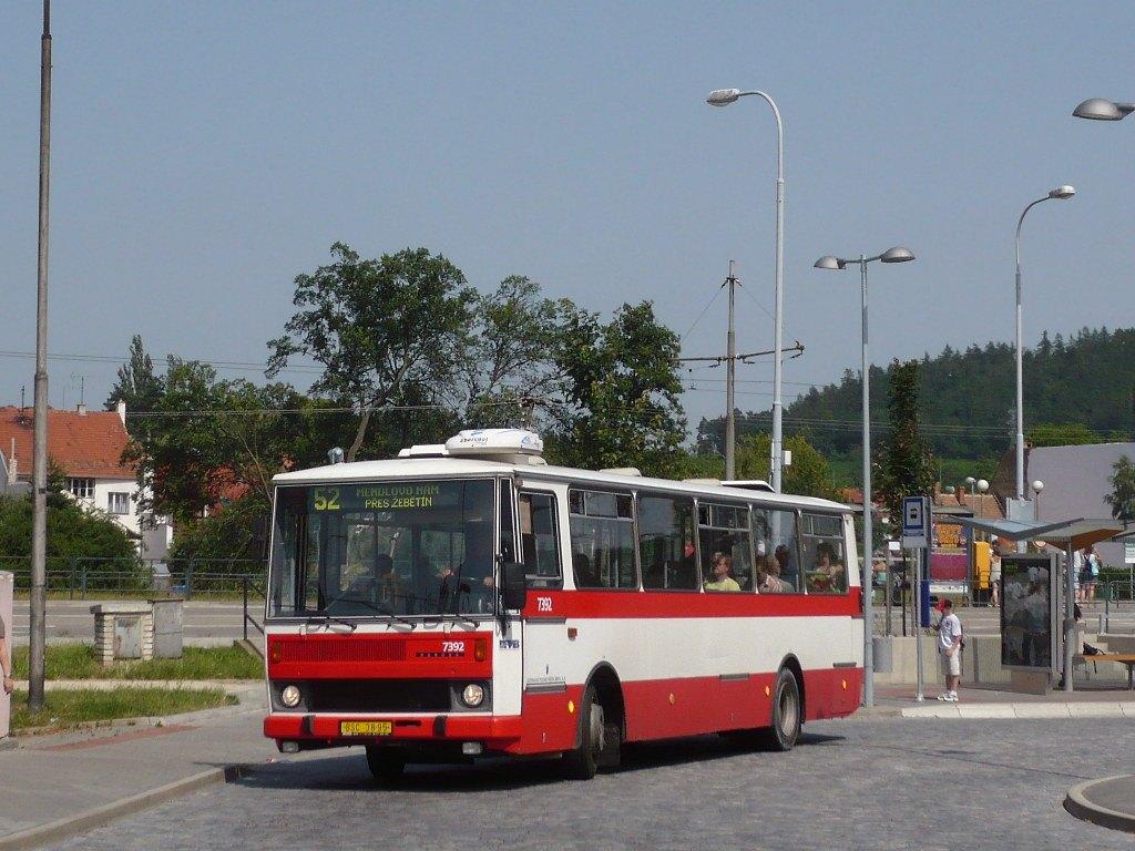 Fotogalerie » Karosa B732.1654.3 7392 | Brno | Bystrc | Zoologická zahrada, smyčka