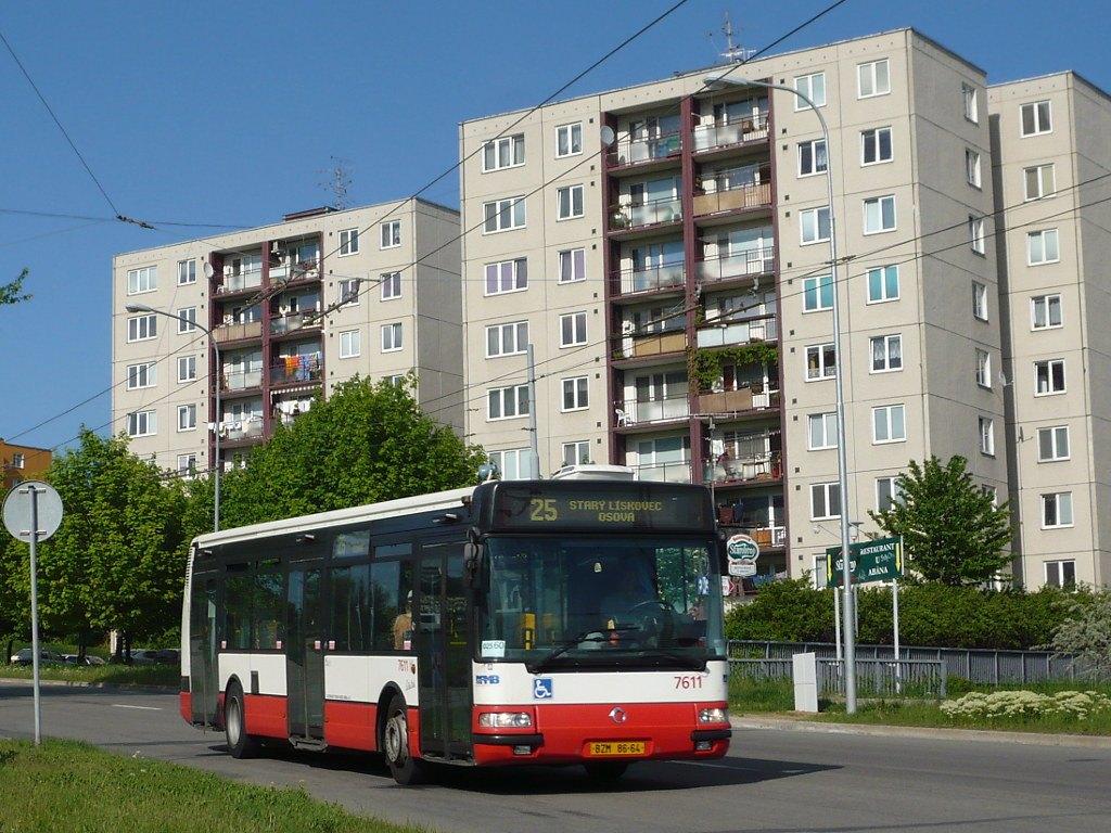 Fotogalerie » Irisbus Citybus 12M 2071.30 7611   Brno   Starý Lískovec   Osová