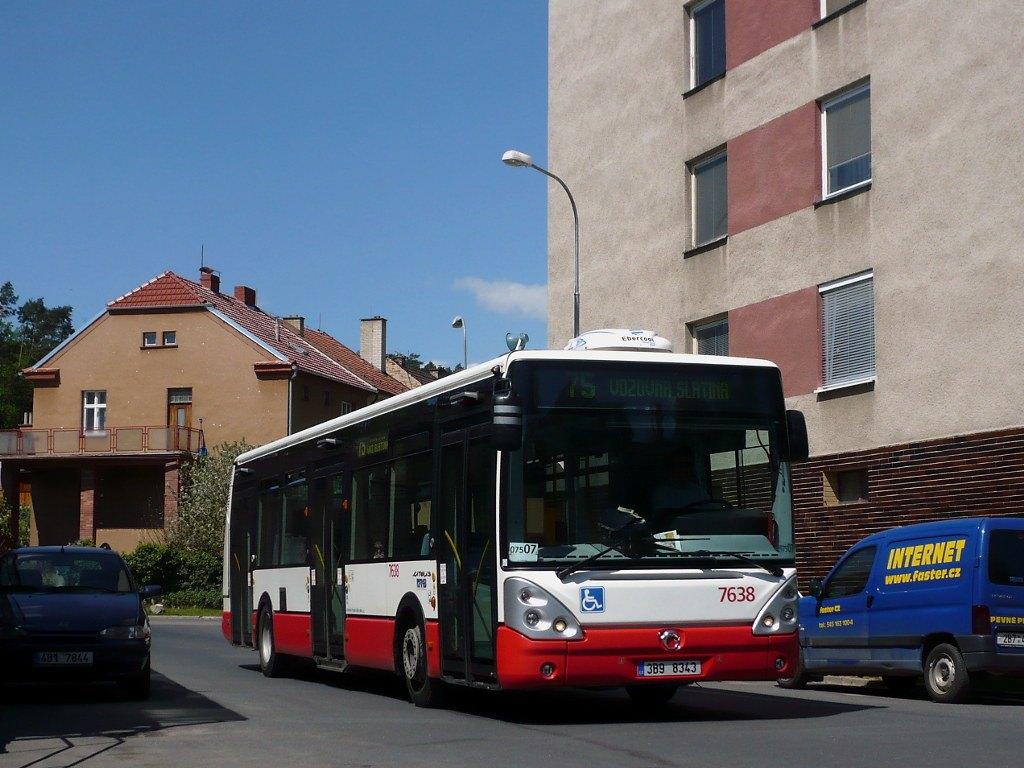 Fotogalerie » Irisbus Citelis 12M 7638 | Brno | Obřany | Obřany, sídliště