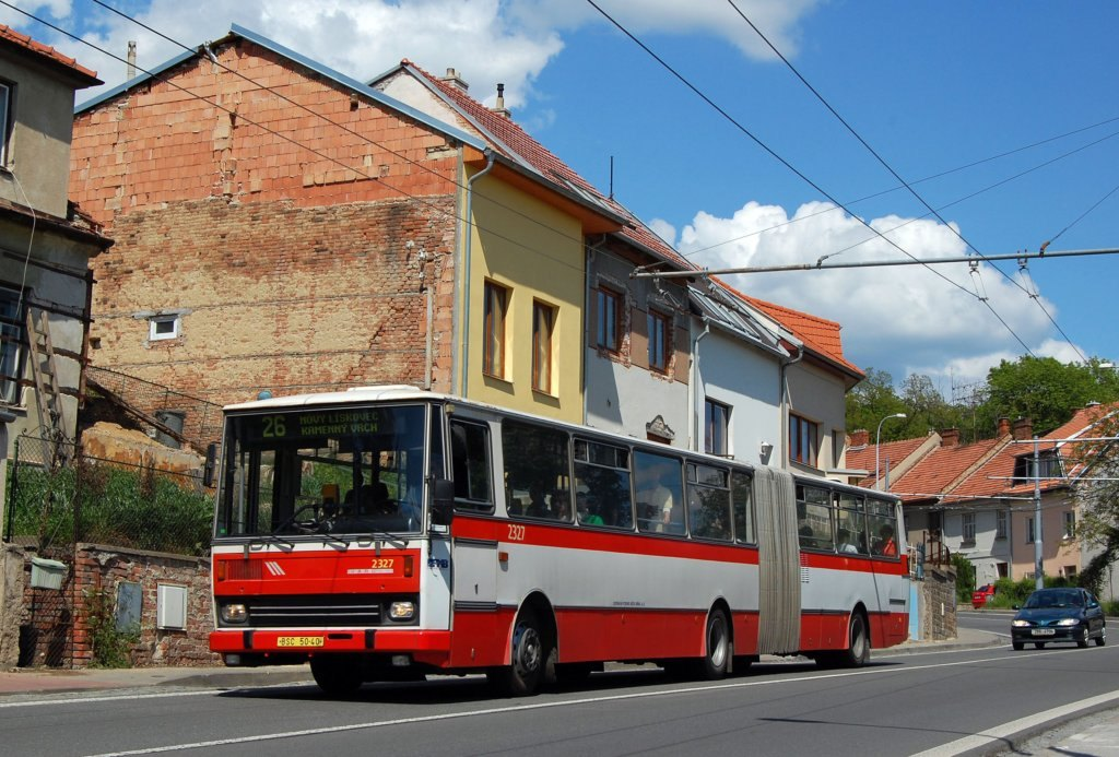 Fotogalerie » Karosa B741.1924 2327   Brno   Nový Lískovec   Rybnická