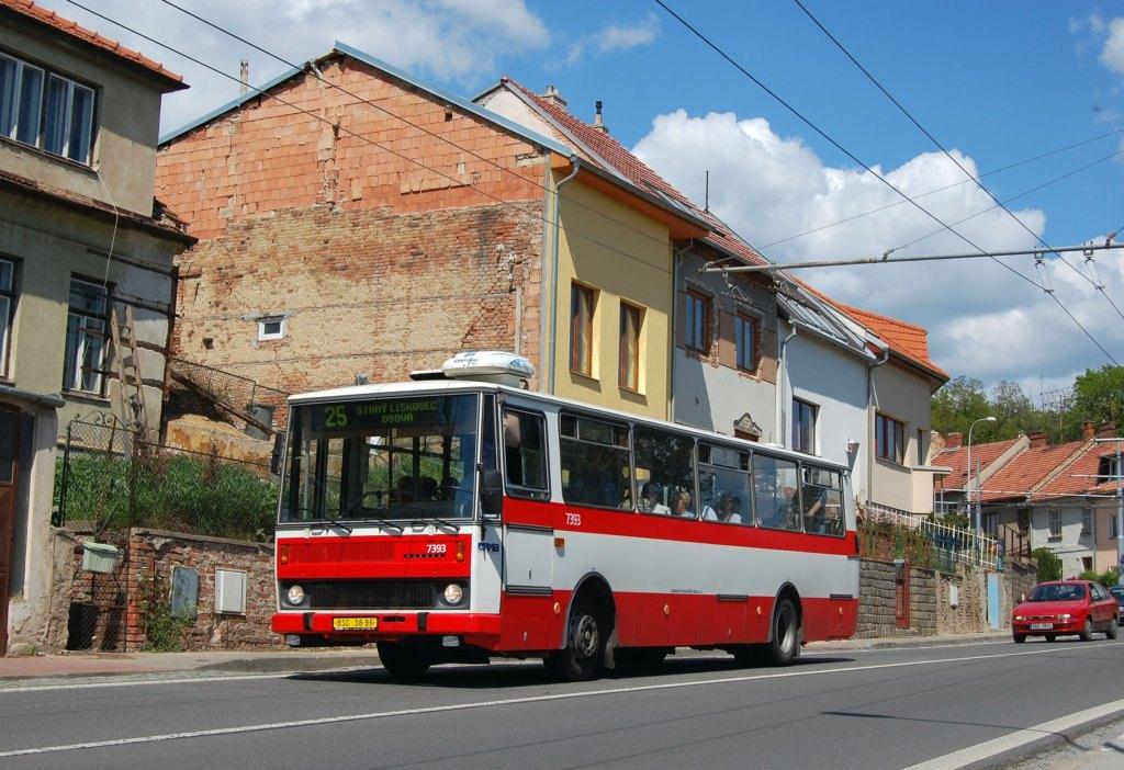 Fotogalerie » Karosa B732.1654.3 7393 | Brno | Nový Lískovec | Rybnická