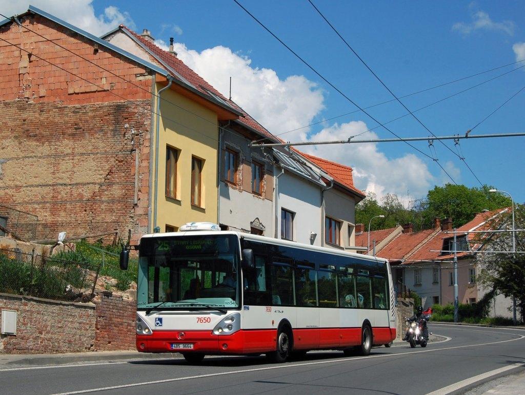 Fotogalerie » Irisbus Citelis 12M 7650 | Brno | Nový Lískovec | Rybnická