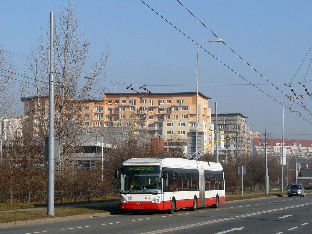 Fotogalerie » Škoda 25Tr Citelis 1B 3612   Brno   Líšeň   Novolíšeňská