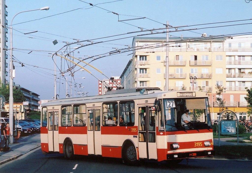 Fotogalerie » Škoda 14Tr07 3195 | Brno | Vinohrady | Pálavské náměstí