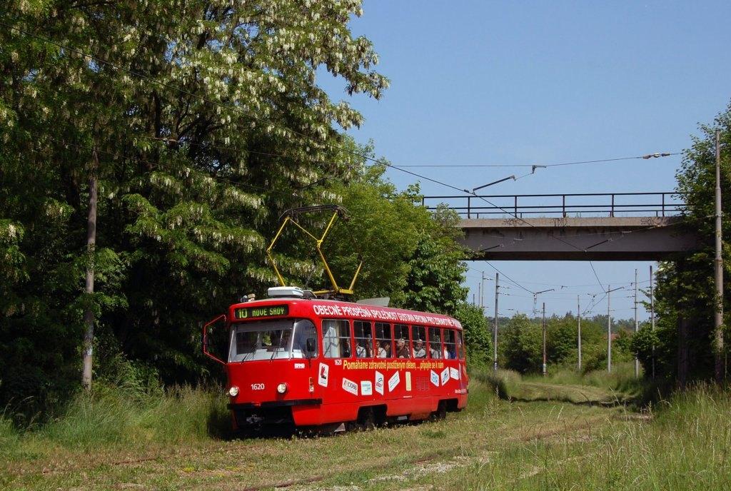Fotogalerie » ČKD Tatra T3P 1620 | Brno | Ostravská