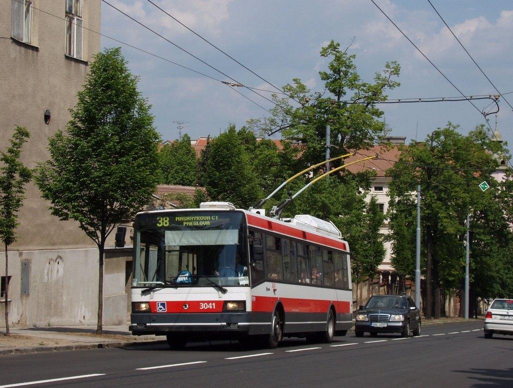 Fotogalerie » Škoda 21TrIGCT 3041   Brno   Masarykova čtvrť   Tvrdého