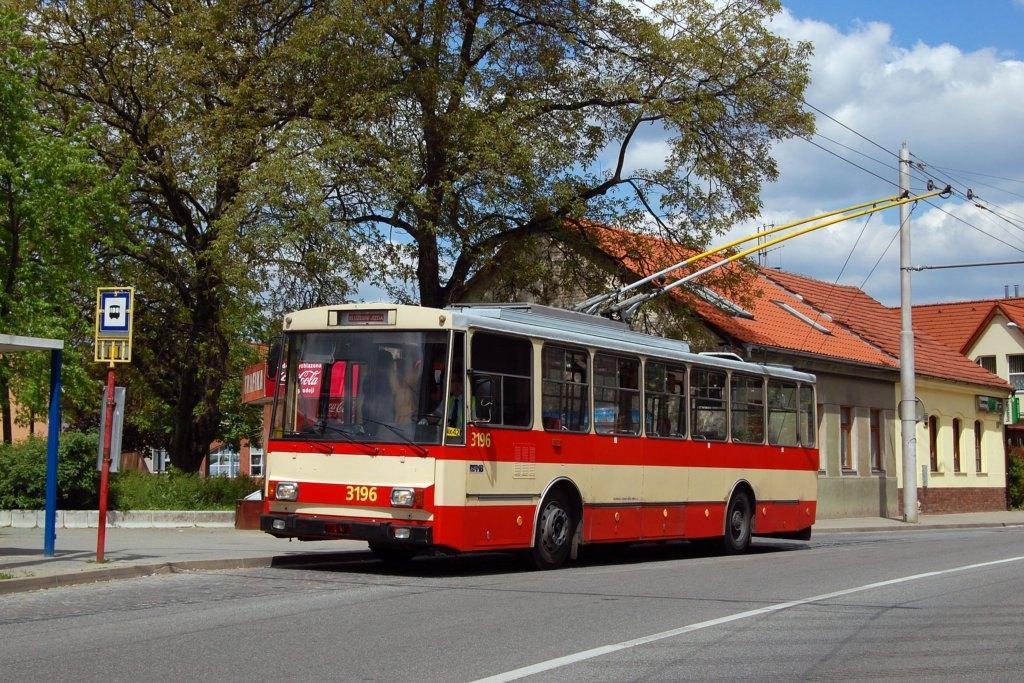Fotogalerie » Škoda 14Tr07 3196 | Brno | Jundrov | Veslařská | Optátova