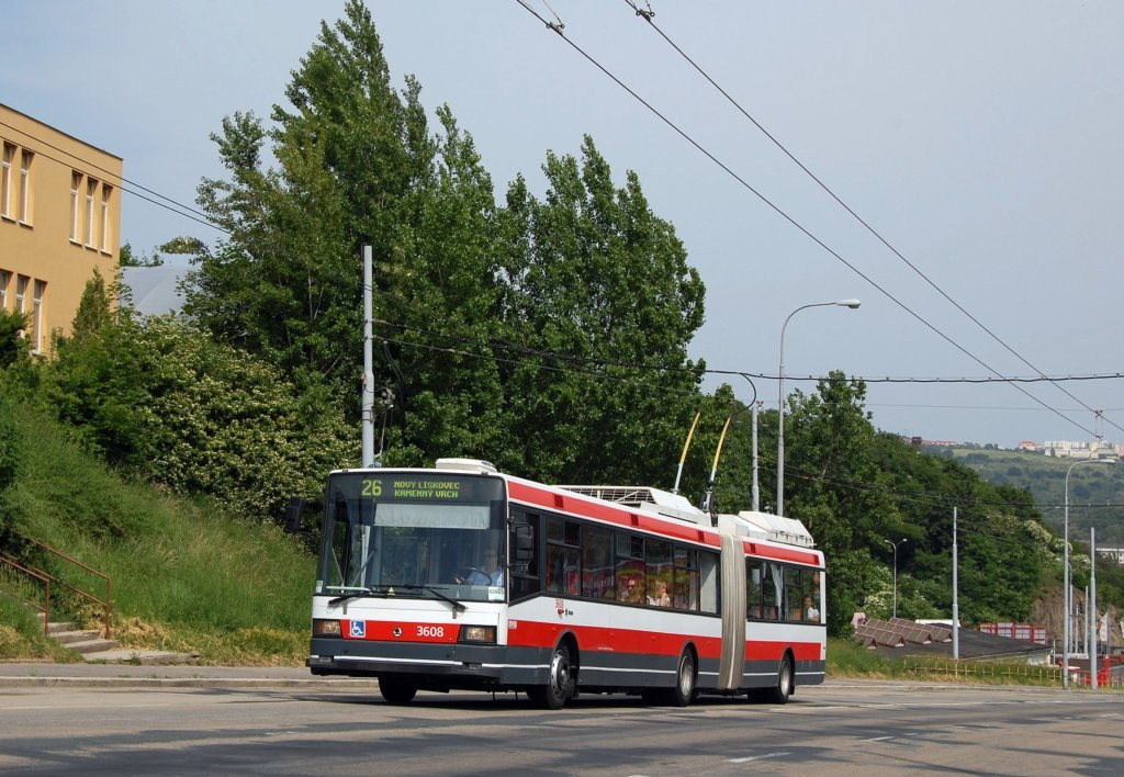 Fotogalerie » Škoda 22Tr 3608 | Brno | Husovice | Provazníkova