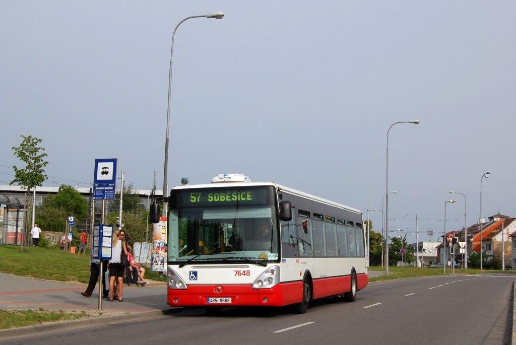 Fotogalerie » Irisbus Citelis 12M 7648 | Brno | Lesná | Okružní | Halasovo Náměstí