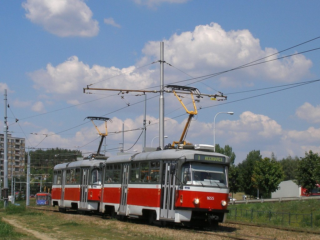 Fotogalerie » Pragoimex T3R.PV 1655   Pragoimex T3R.PV 1656   Brno   Bystrc