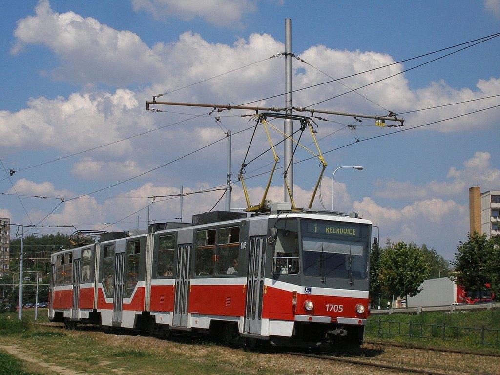 Fotogalerie » ČKD Tatra KT8D5R.N2 1705   Brno   Bystrc