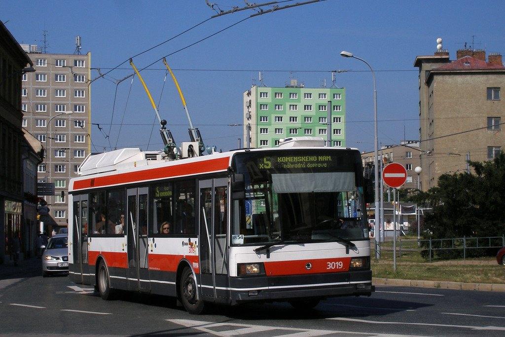 Fotogalerie » Škoda 21Tr 3019   Brno   Staré Brno   Mendlovo náměstí