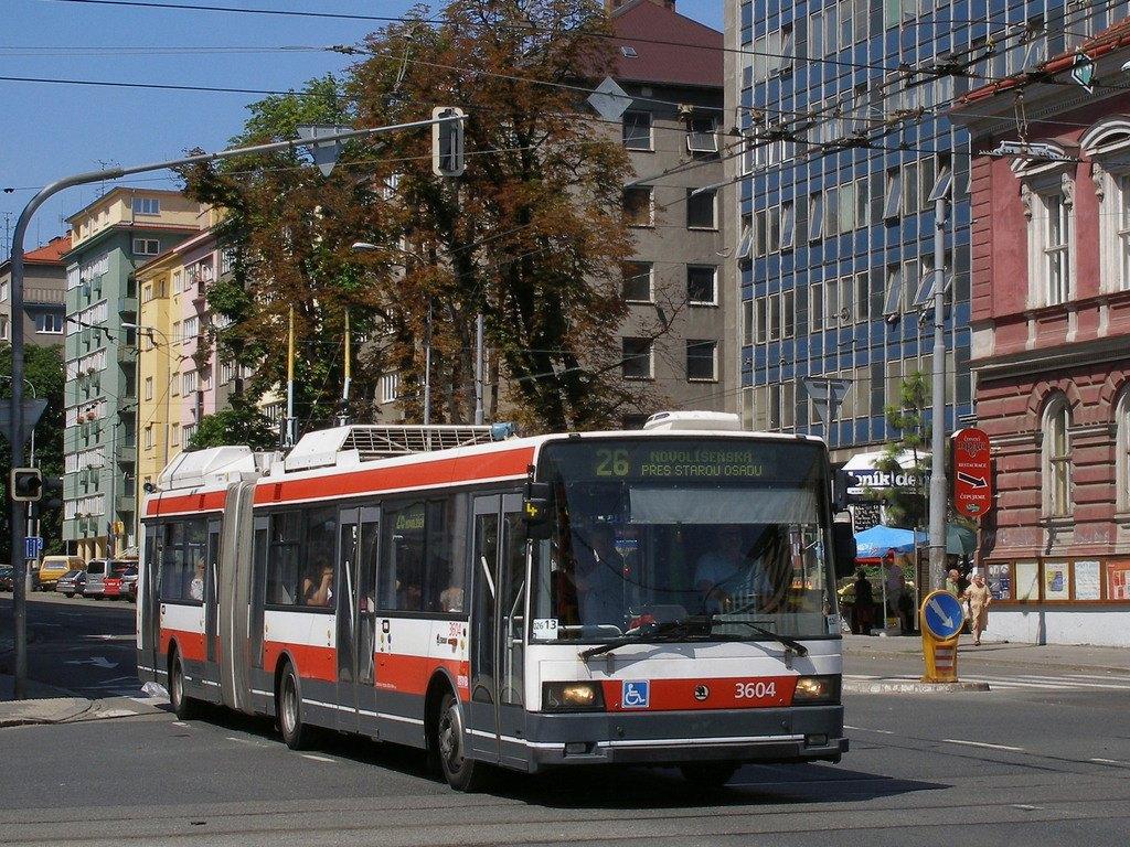 Fotogalerie » Škoda 22Tr 3604 | Brno | střed | Kotlářská