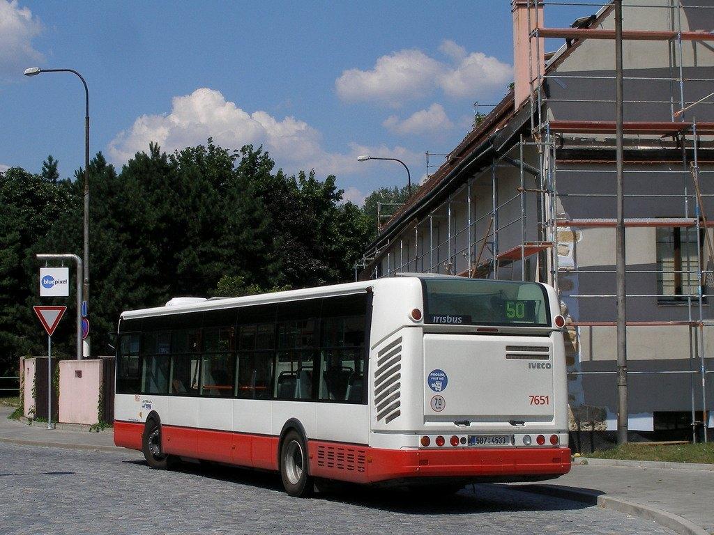Fotogalerie » Irisbus Citelis 12M 7651 | Brno | Bystrc | Zoologická zahrada, smyčka