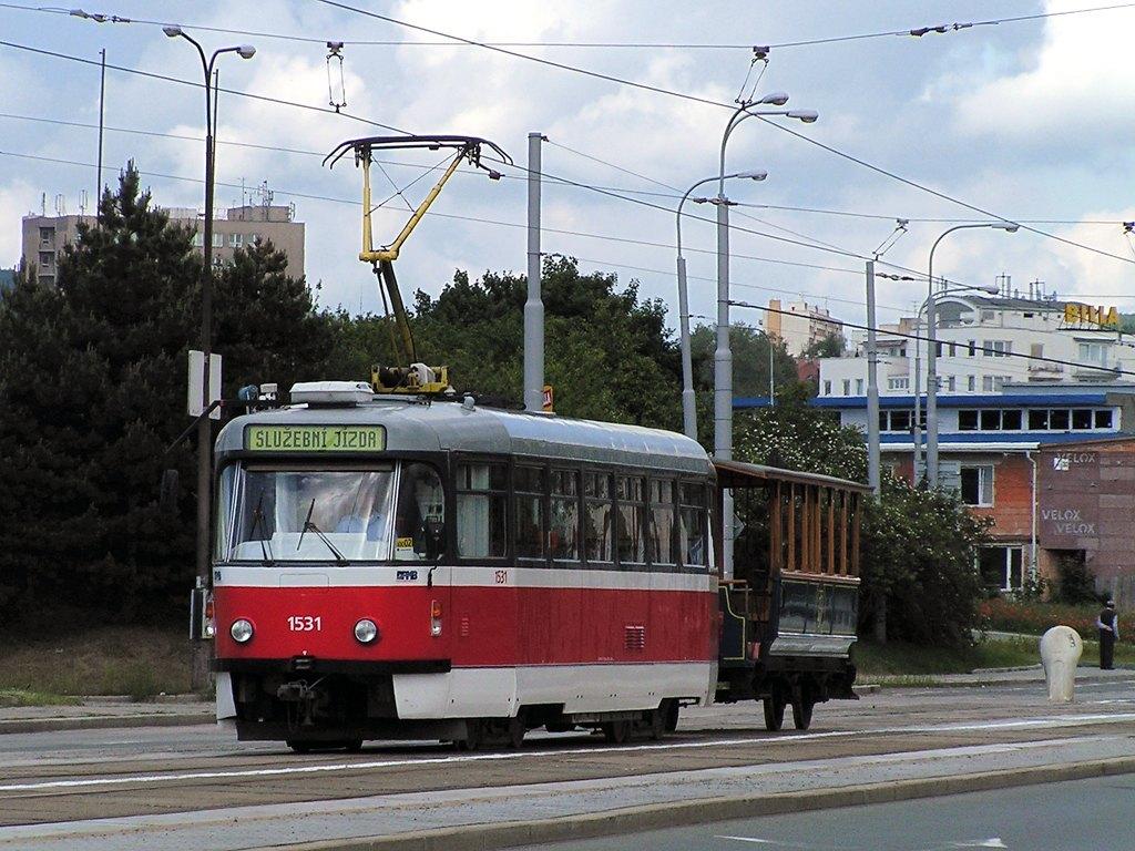 Fotogalerie » ČKD Tatra T3 1531   ? vk2 6   Brno   Královo Pole   Palackého