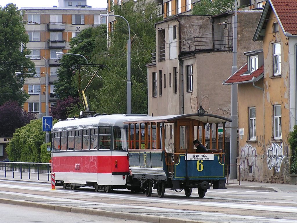 Fotogalerie » ČKD Tatra T3 1531 | ? vk2 6 | Brno | Královo Pole | Palackého