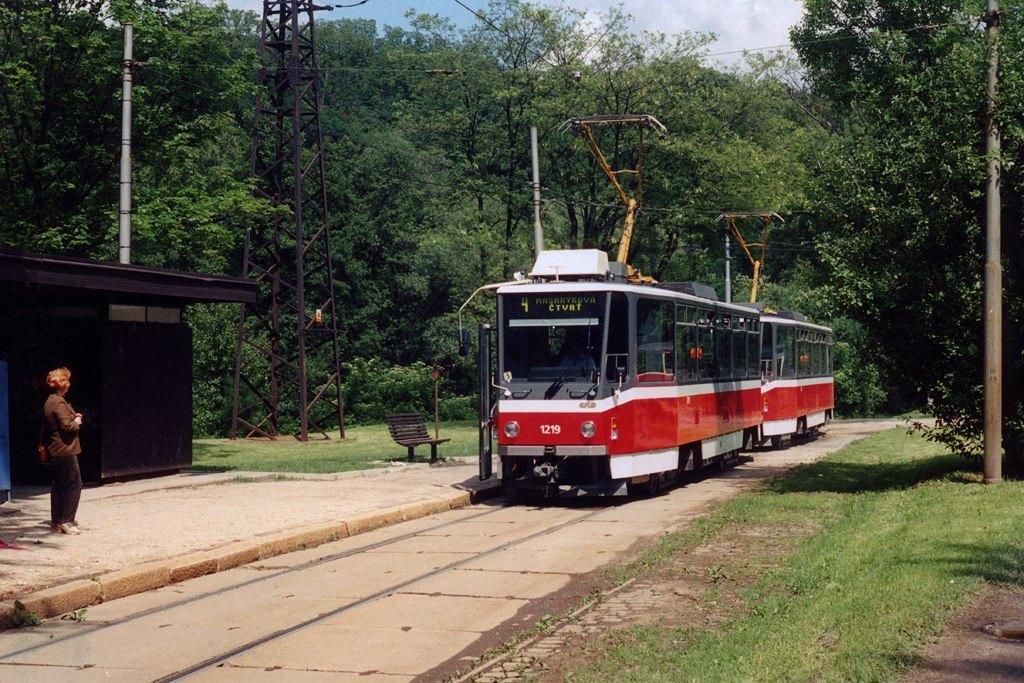 Fotogalerie » ČKD DS T6A5 1219 | ČKD DS T6A5 1220 | Brno | Maloměřice | Obřanská | Babická