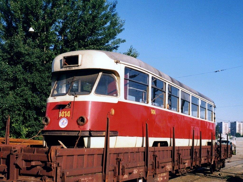 Fotogalerie » Tatra T2R 1414 | Brno | Královo Pole | Vlečka DP v Králově Poli