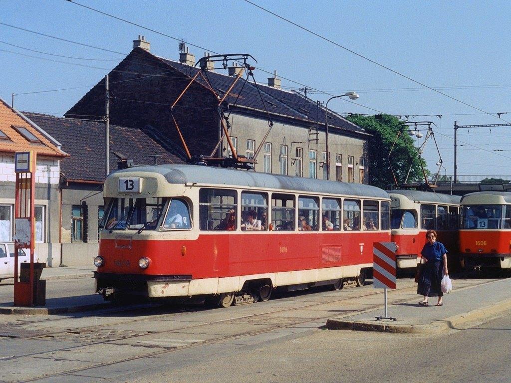 Fotogalerie » Tatra T2R 1476 | Brno | Židenice | Životského | Životského