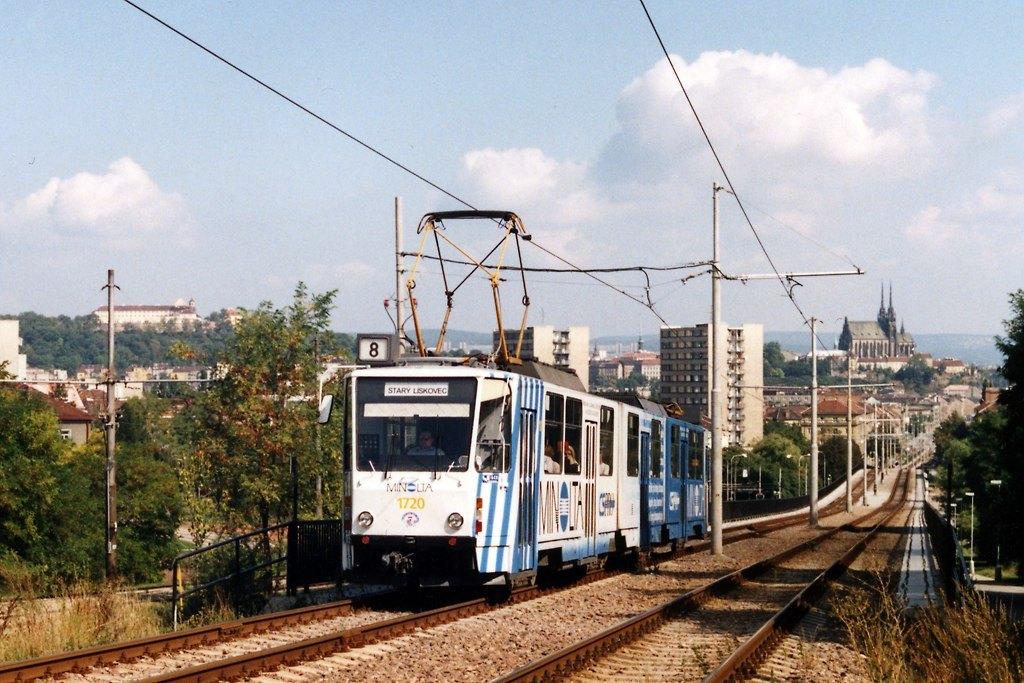 Fotogalerie » ČKD Tatra KT8D5 1720 | Brno | Štýřice | Renneská