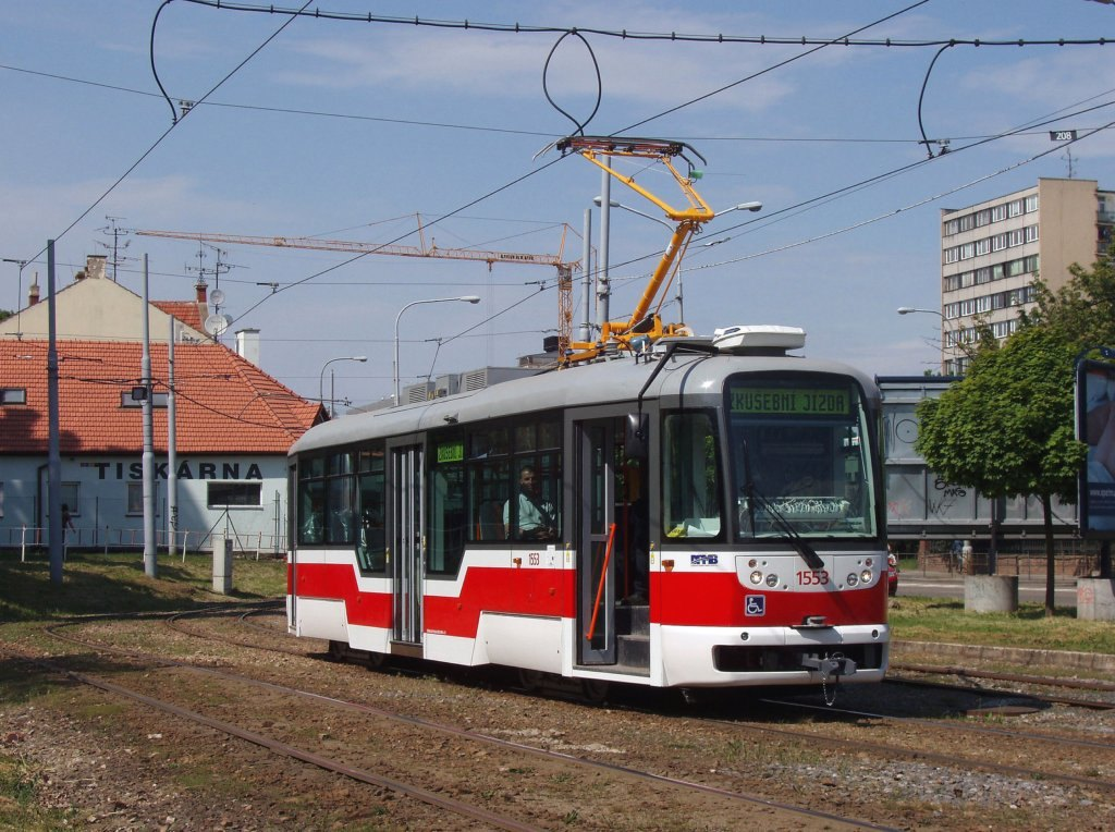 Fotogalerie » Pragoimex VarioLFR.E 1553 | Brno | Štýřice | Vídeňská