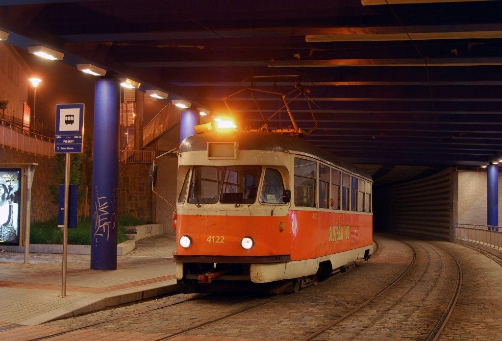 Fotogalerie » Tatra T2 služební 4122 | Brno | Pisárky | Pisárky