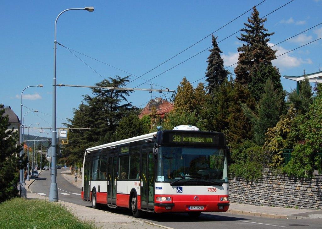Fotogalerie » Irisbus Citybus 12M 2071.40 7626 | Brno | Masarykova Čtvrť | Preslova | Pavlíkova