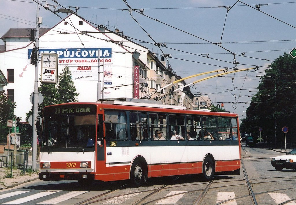 Fotogalerie » Škoda 14Tr17/6M 3267 | Brno | Královo Pole | Palackého třída