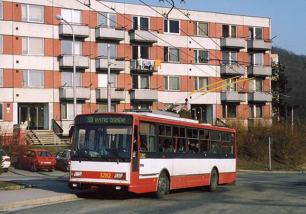 Fotogalerie » Škoda 14Tr17/6M 3282 | Brno | Bystrc | Černého